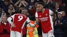 FOTO: Arsenal Samai Poin Man Utd Usai Hajar Aston Villa