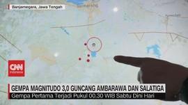 VIDEO: Gempa Magnitudo 3,0 Guncang Ambarawa & Salatiga