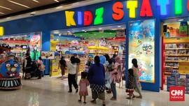 Pascapelonggaran PPKM, Anak-anak Ramaikan Mal di Ibu Kota