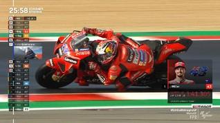 VIDEO: Miller Tercepat di FP2 MotoGP Emilia Romagna