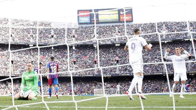 Hasil Liga Spanyol: Madrid Kalahkan Barcelona di El Clasico