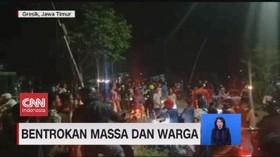 VIDEO: Bentrokan Massa dan Warga