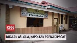 VIDEO: Dugaan Asusila, Kapolsek Parigi Dipecat