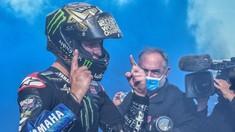 FOTO: Teriakan Gembira Quartararo Si Juara Dunia MotoGP