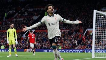 Hattrick Saat Hajar Man Utd, Salah Lewati Rekor Drogba