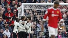 Man Utd Tertinggal 0-4 dari Liverpool di Babak Pertama