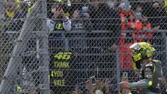 FOTO: Perpisahan Rossi di Misano yang Bikin Merinding