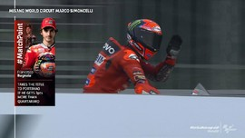 VIDEO: Aksi Gemilang Bagnaia Pole di MotoGP Emilia Romagna