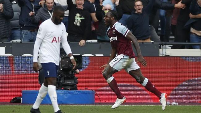 Hasil Liga Inggris: Tottenham Kalah dari West Ham