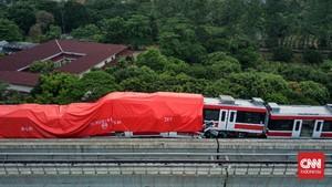 INKA Belum Taksir Kerugian Tabrakan LRT di Cibubur