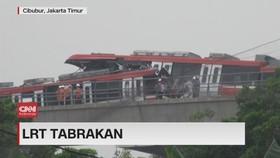 VIDEO: Kesaksian Warga Saat LRT Tabrakan