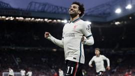 Pesan 'Pede' Mo Salah Usai Liverpool Gasak Man Utd 5-0