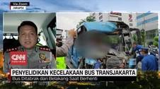 VIDEO: Penyelidikan Kecelakaan Bus Transjakarta