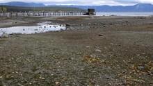 FOTO: Perubahan Iklim Sebabkan Danau Tahoe Mengering