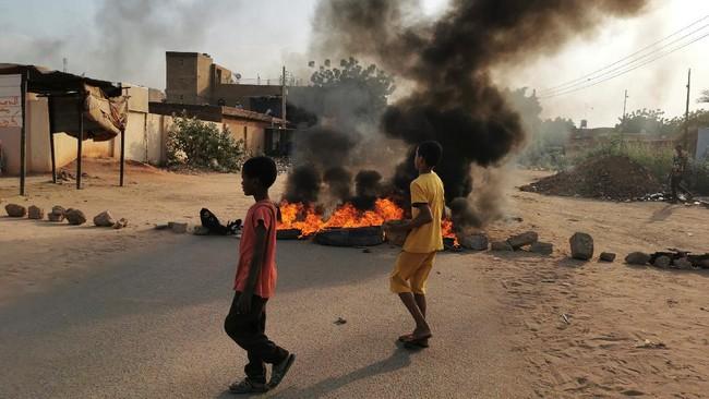 Tiga Orang Tewas dalam Protes Kudeta Milter Sudan