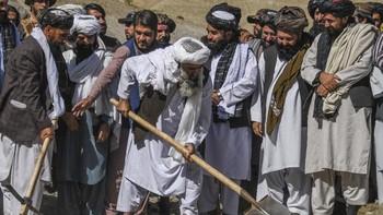 Taliban Buka Lowongan Kerja dengan Upah Gandum
