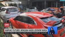 VIDEO: Deretan Mobil Mewah di Kampung Youtuber