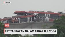 VIDEO: LRT Tabrakan Dalam Tahap Uji Coba
