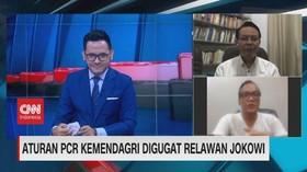 VIDEO: Aturan PCR Kemendagri Digugat Relawan Jokowi