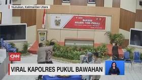 VIDEO: Viral Kapolres Pukul Bawahan