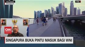 VIDEO: Singapura Buka Pintu Masuk Bagi WNI