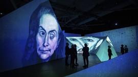 FOTO: Keajaiban Karya Picasso Berpadu dengan Teknologi