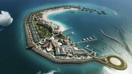 'Sepotong Bali' di Pulau Bulan Sabit Qatar