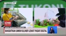 VIDEO: Bangkitkan UMKM Kuliner Lewat Pasar Digital