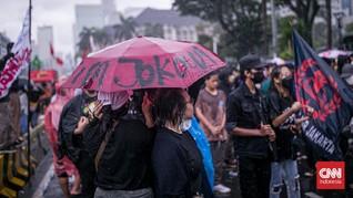 Demo Buruh Sindir Jokowi Sudah Lupa Rakyat