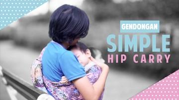 Ayo Buat Gendongan Bayi yang Mudah dan Modern
