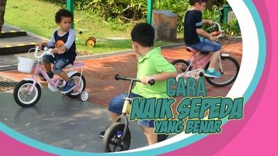 Yuk, Ajari Anak Naik Sepeda