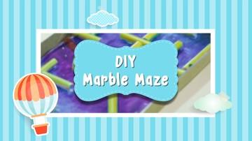 DIY Marble Maze Untuk Anak