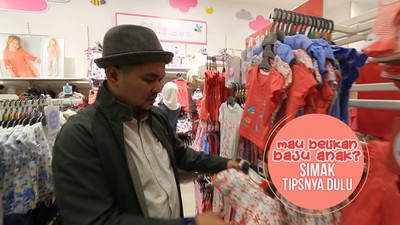 Mau Belikan Baju Anak, Simak Tipsnya Dulu
