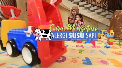 Cerita Alyssa Soebandono Atasi Alergi Susu Sapi Pada Anak