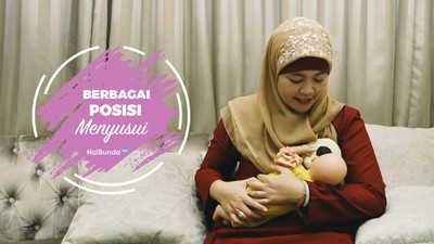 Begini 5 Alternatif Posisi Menyusui Bayi