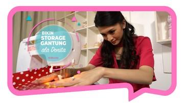 Bikin Storage Gantung Ala Donita