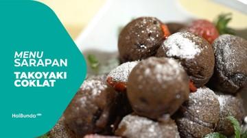 Resep Takoyaki Cokelat ala Astrid Tiar
