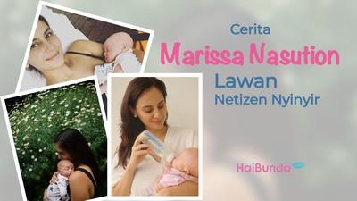 Cerita Marissa Nasution Lawan Netizen Nyinyir