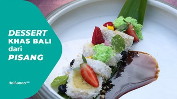 Resep Camilan Pisang Manis dari Bali