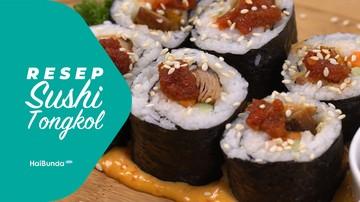 Resep Sushi Tongkol