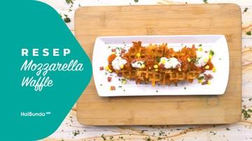Resep Mozzarella Waffle