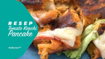 Resep Tomato Kimchi Pancake