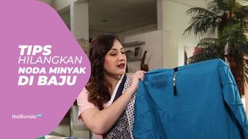 Tips Hilangkan Noda Minyak pada Baju