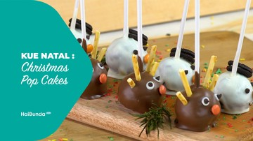 Kue Natal: Christmas Pop Cakes