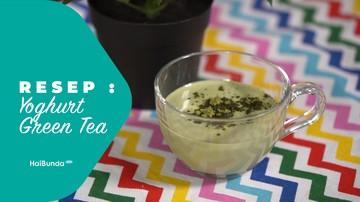 Resep Yoghurt Green Tea