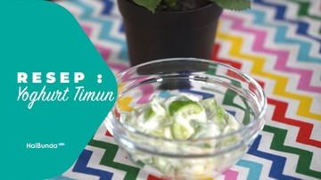Resep Timun Yoghurt