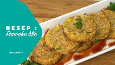 Resep Pancake Mie