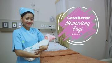 Tutorial Cara Membedong Bayi dengan Benar