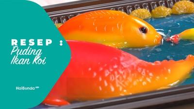 Resep Puding Ikan Koi