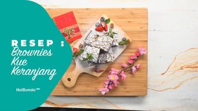 Resep Brownies Kue Keranjang
